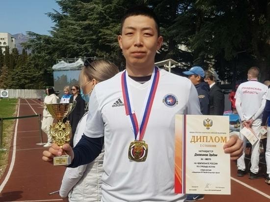 Лучники из Забайкалья взяли весь комплект медалей на чемпионате России