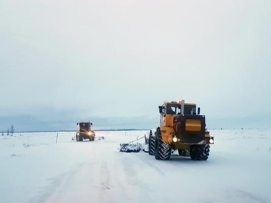 Зимник Коротчаево — Красноселькуп закрыли из-за плохой видимости