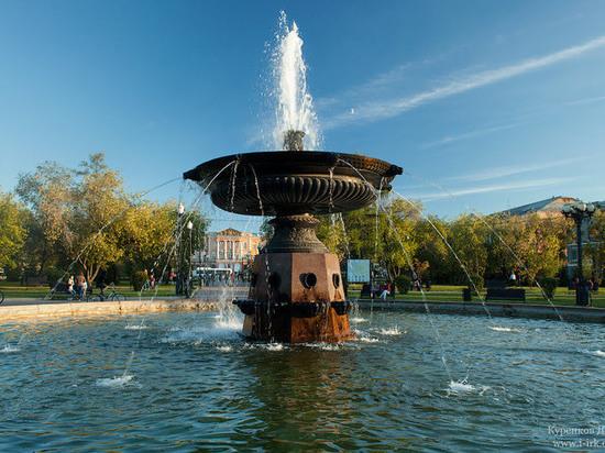 В Иркутске готовят к лету 11 фонтанов