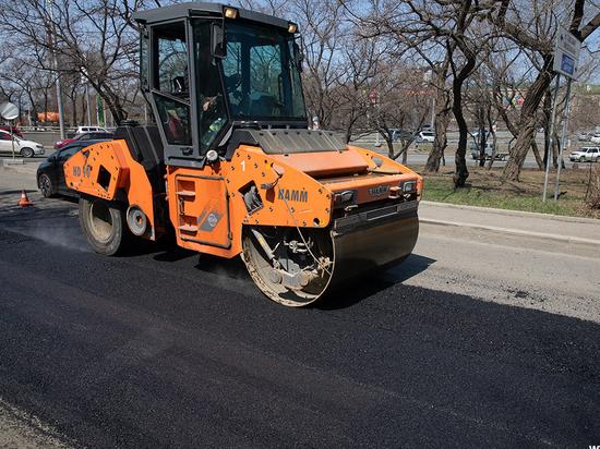 В ближайшее время в дальневосточной столице начнутся дорожные работы