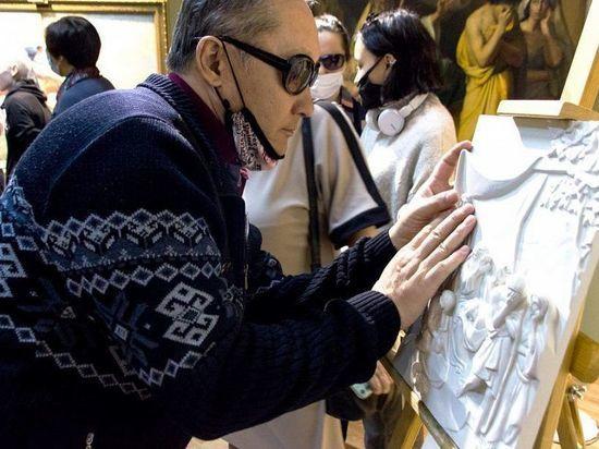 В Национальном музее Бурятии представили тактильные модели картин