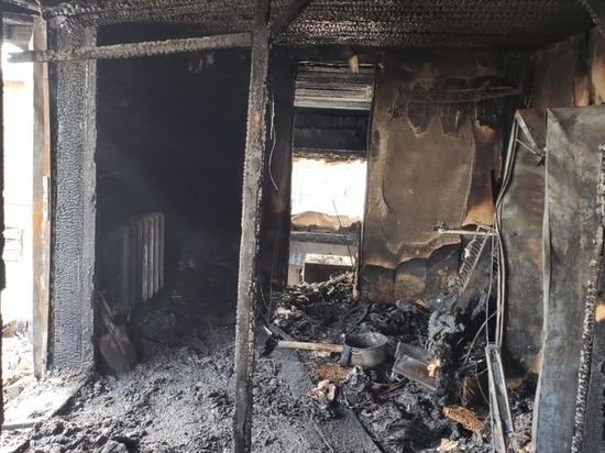 В Эльбане в ночном пожаре пострадали женщина и два ребенка