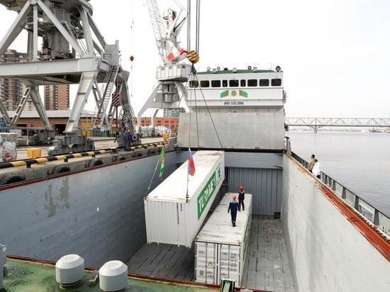 В Астрахань прибыла гуманитарная помощь от Туркменистана