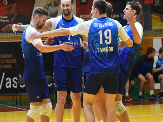 Тамбовские волейболисты сыграли в финале ЦФО первой лиги