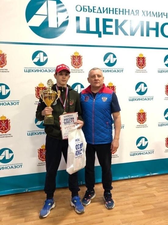 Калужские боксеры взяли три медали на Чемпионате ЦФО в Щекино