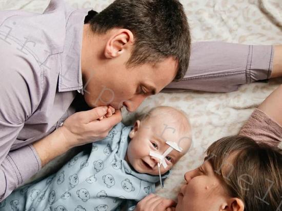 Рязанцев попросили помочь со сбором средств на самое дорогое лекарство для малыша
