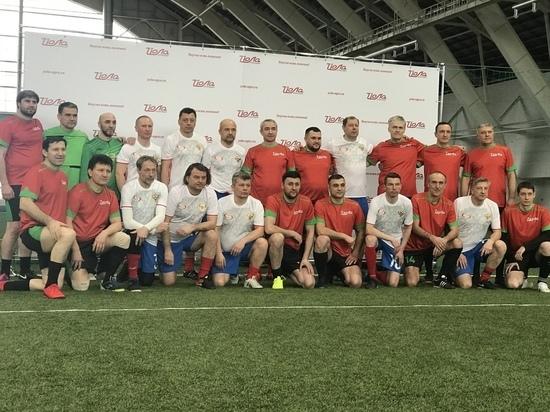 В Марий Эл местные футболисты сыграли с мастерами спорта СССР и РФ