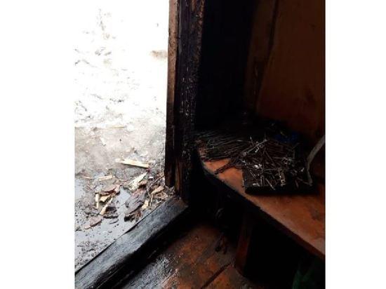 Из-за курения чуть не сгорел дом в поселке Марий Эл
