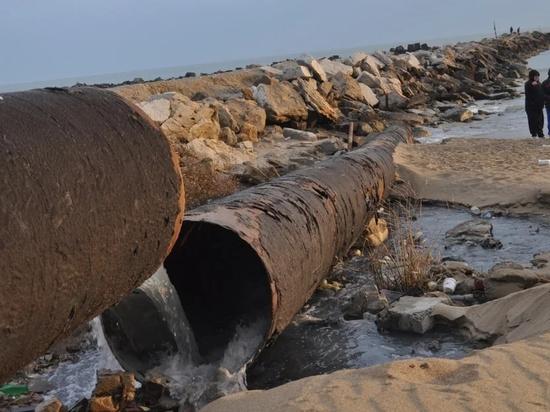 Отходы коньячного завода в Дагестане сливают в море
