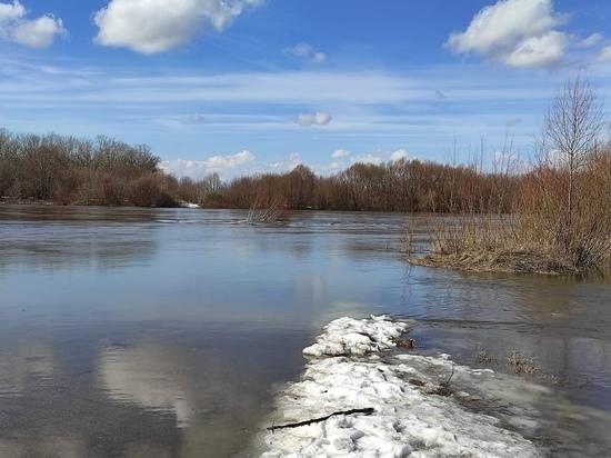 В Рязани из-за половодья река Ока соединилась с Ореховым озером