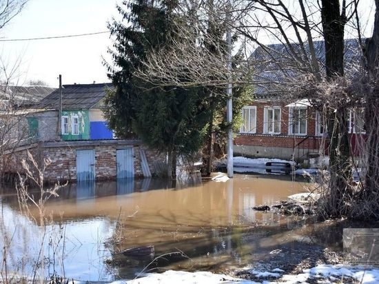 В Рязанской области половодье может затронуть три тысячи домов