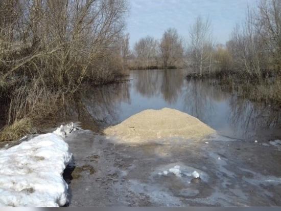 В Кораблинском районе закрыли движение по мосту через реку Мостья у села Пустотино