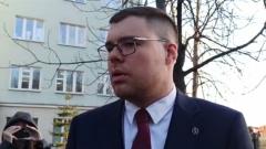 Недовольство адвоката Любови Соболь после суда сняли на видео