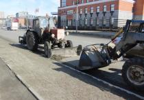 По данным администрации, в финальной декаде марта при помощи каналопромывочной машины велась промывка и очистка ливневок