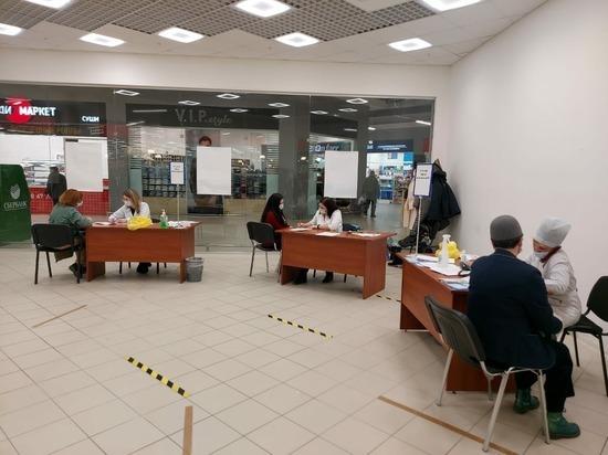 В двух торговых центрах Екатеринбурга откроются пункты вакцинации