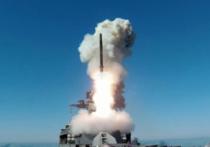 Фрегат «Маршал Шапошников» в Японском море 6 марта впервые осуществил пуск крылатой ракеты «Калибр» по наземной цели