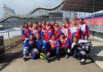 Серпуховичи приняли участие в организации Чемпионата мира по скоростному спуску на коньках