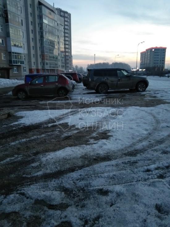 В Кемерове пожаловались на незаконную автопарковку