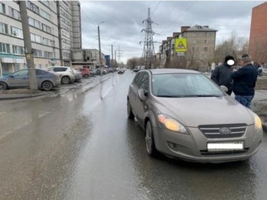 В Челябинске водитель иномарки сбил ребенка, который перебегал дорогу