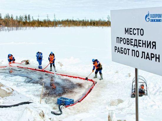 Разгерметизация, пожар, утечка нефти: на месторождении Ямала ликвидировали условную аварию. Фото