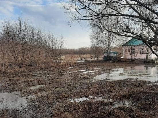 В Ряжском районе ушла вода с приусадебных участков