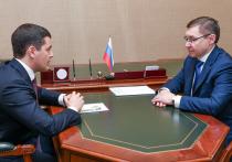 Глава Ямала рассказал полпреду в УрФО о готовности округа к паводкам и пожарам