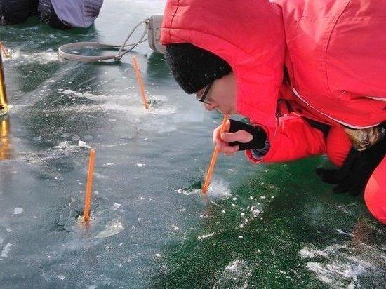 Зимний сезон на священном озере сравнялся по популярности с летним