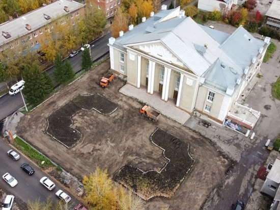 В кузбасском городе к 300-летию региона благоустроят территорию местного ДК