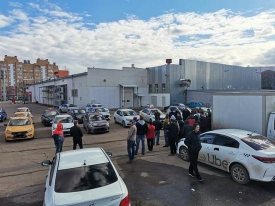 В Калуге таксисты объявили забастовку