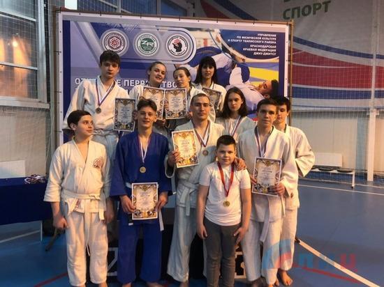 Луганские спортсмены привезли из Краснодарского края 11 медалей