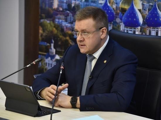 Любимов поручил усилить работу по уборке Рязани
