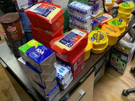 В Мурманске обнаружили 35 килограммов санкционгого товара – сыра и масла
