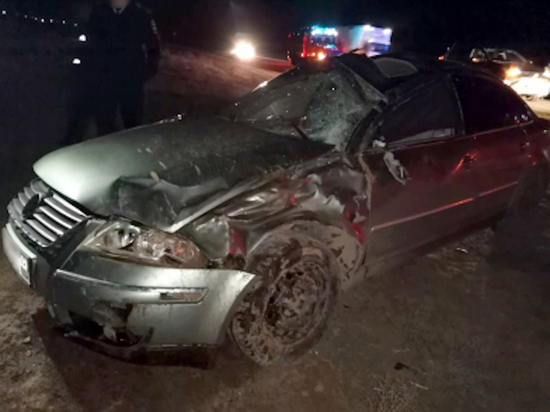 Житель Калмыкии погиб в аварии под Астраханью