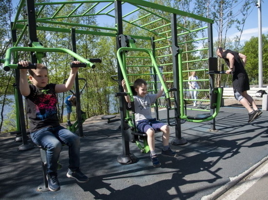 Жители Мурманска могут проголосовать за выбор 5 мест для установки спортивных и игровых площадок