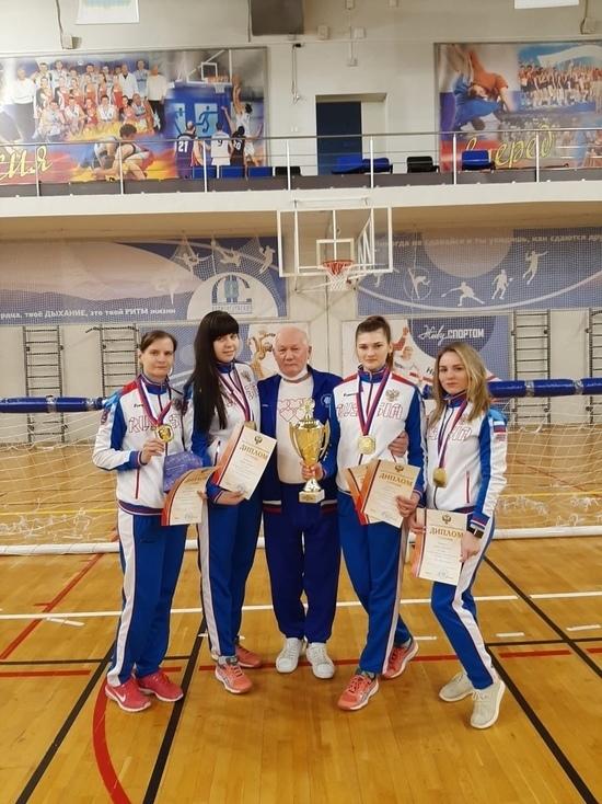Незрячие калужские спортсменки взяли золото Чемпионата России