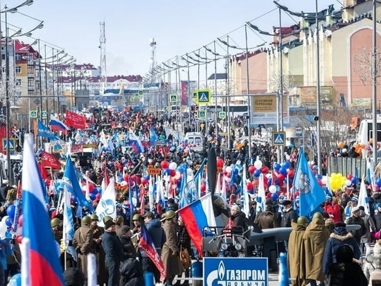 Регистрация коллективов на участие в торжественном шествии в День Победы началась в Новом Уренгое