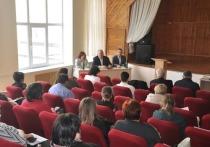 Депутат Константин Затулин встретился с жителями Белореченского района