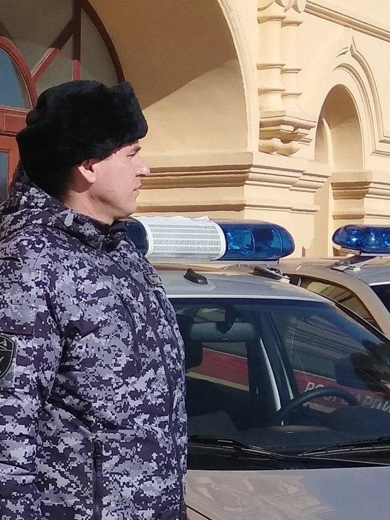 Сотрудники Росгвардии задержали нижегородца за вождение в нетрезвом виде