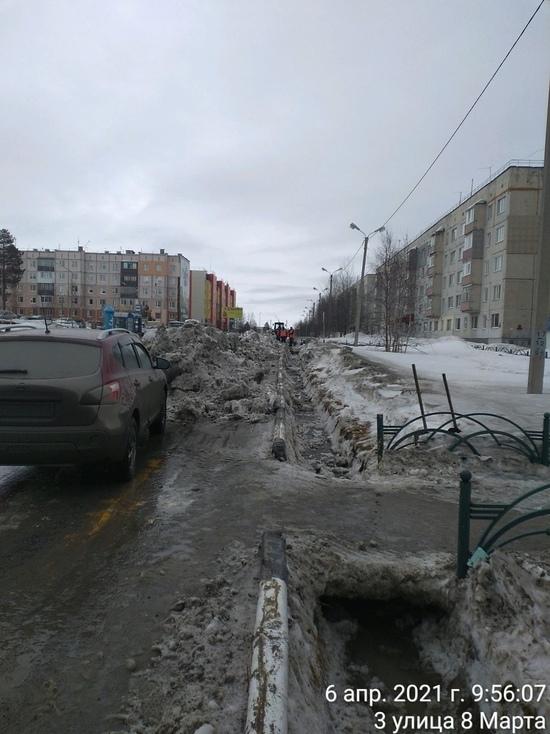 Оттепель после снегопада: власти Ноябрьска рассказали об уборке улиц