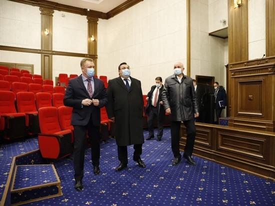 Министр юстиции России Чуйченко посетил Восьмой кассационный суд в Кемерове