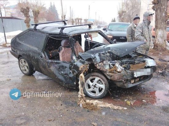 В Башкирии столкнулись «ГАЗель» и легковушка – один из водителей оказался пьян