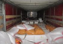 В Оренбургскую область пытались завезти 141 тонну подозрительной продукции