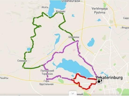 Майская велопрогулка стартует от Екатеринбург-Арены