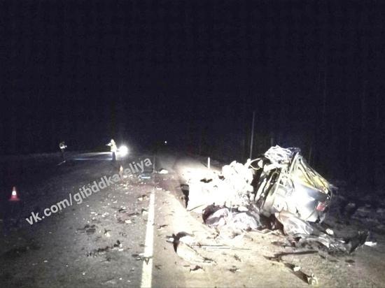В Карелии водитель погиб во время ДТП