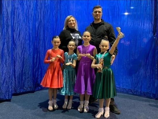Серпуховичи показали отличные результаты на Российских соревнованиях по спортивным танцам
