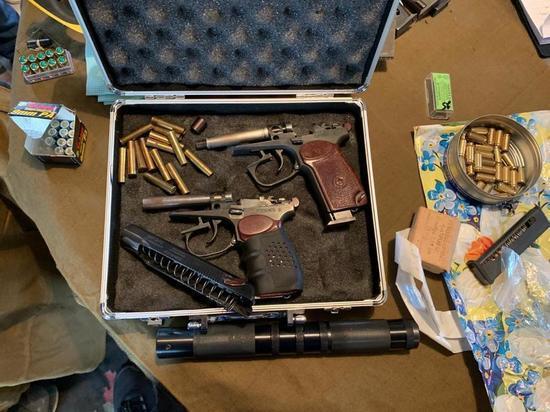 В Приангарье закрыли четыре подпольные оружейные мастерские