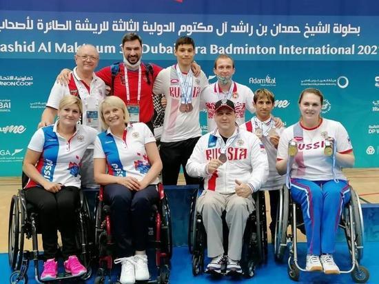 Костромская команда привезла с чемпионата мира по парабадминтону полный набор медалей