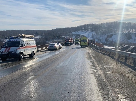 Два жителя Тувы погибли в ДТП под Новосибирском