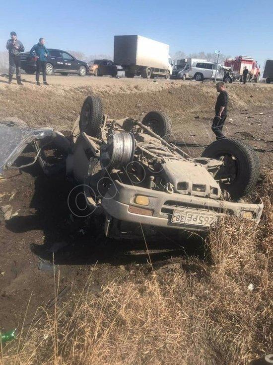 Водитель внедорожника погиб в ДТП в Усольском районе