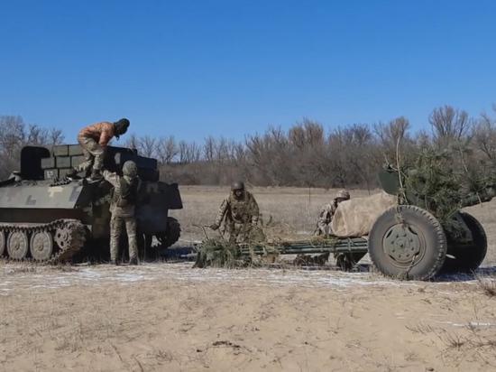 Украинские войска уже несут потери на Донбассе